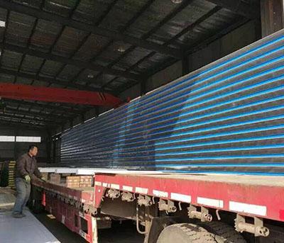 17米长10公分厚玻璃丝棉顶板9
