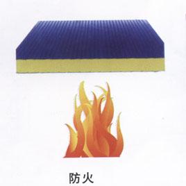 岩棉夹芯板防火效果