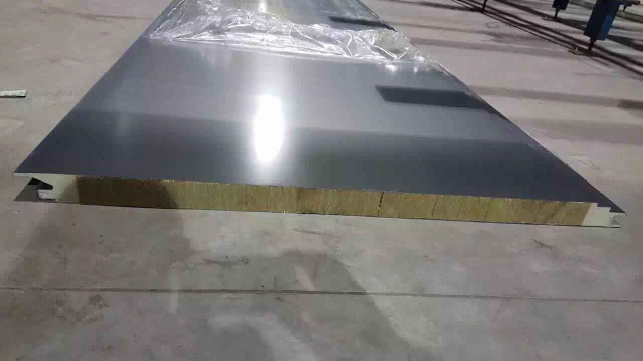 50厚PU封边岩棉净化板